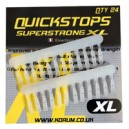 KORUM QUICKSTOPS medium 24pcs